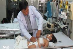 Cắt thành công khối u nặng 1,3 kg trong gan bé gái 2 tuổi