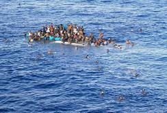 Chìm tàu nhập cư ở Địa Trung Hải, hàng trăm người thiệt mạng