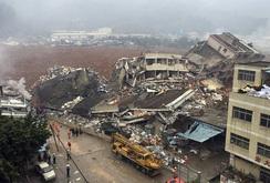 Hiện trường vụ lở đất kinh hoàng, vùi 33 tòa nhà ở Thâm Quyến