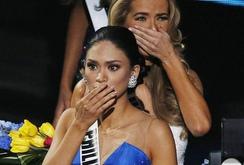 Đêm chung kết Miss Universe thảm họa hay có trong kịch bản?