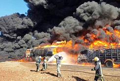 Nga oanh kích phá hủy 12.000 xe bồn chở dầu của IS
