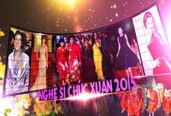 Các nghệ sĩ đoạt Giải Mai Vàng 2014 chúc Tết