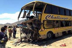 Tai nạn giao thông thảm khốc tại Peru, ít nhất 40 người chết