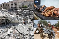 Máy bay chiến đấu Syria rơi, 12 người chết