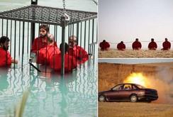 IS tung video 3 hình thức hành quyết tù nhân dã man