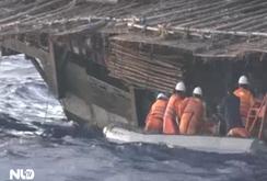 Hải quân Trung Quốc đe dọa tàu cứu ngư dân Việt Nam