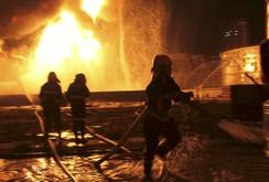 Lại nổ lớn nhà máy hóa chất ở Trung Quốc