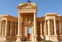 IS san bằng Khải hoàn môn 2.000 năm tuổi ở thành cổ Syria