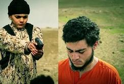 """Chiến binh IS """"nhí"""" 12 tuổi hành quyết gián điệp Israel"""
