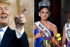 """Tỉ phú  Donald Trump: """"Tôi sẽ trao danh hiệu hoa hậu cho cả hai cô gái"""""""