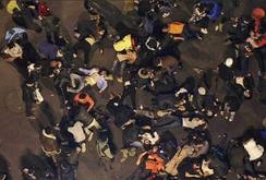 Giẫm đạp lên nhau đêm giao thừa ở Thượng Hải, 35 người chết