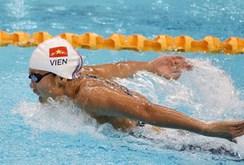Clip: Ánh Viên phá kỷ lục SEA Games 200 m bướm
