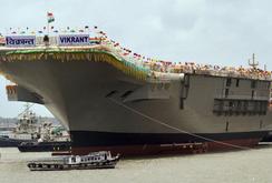 Mỹ và Ấn Độ hợp tác đóng tàu sân bay hiện đại