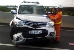 Lại tai nạn giao thông nghiêm trọng trên đường cao tốc hiện đại nhất Việt Nam