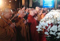 Nước mắt trong đại lễ cầu siêu 64 liệt sĩ hy sinh tại đảo Gạc Ma