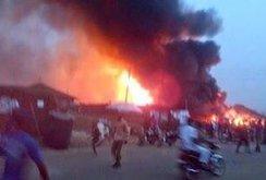 Nigeria: Nổ lớn tại nhà máy khí hóa lỏng, hơn 100 người thiệt mạng