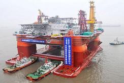 Giàn khoan 981 của Trung Quốc khoan giếng dầu sâu 3.000 m ở biển Đông