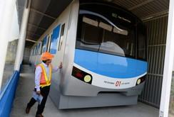Mời bạn đọc góp ý mô hình tàu Metro số 1 TPHCM