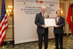 70 triệu USD đầu tư ĐH Fulbright tại Việt Nam
