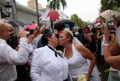 Hôn lễ của 60 cặp đồng tính ở Puerto Rico