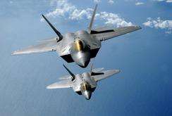 Mỹ điều 4 chiến đấu cơ tàng hình F-22 đến Đức