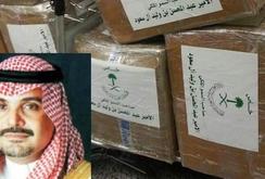 Hoàng tử Arab Saudi bị bắt trên máy bay với 2 tấn ma túy