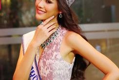 Ngắm nhan sắc tân hoa hậu Hoàn vũ Thái Lan