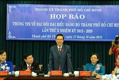 Đại hội Đảng bộ TP HCM: 69 nhân sự bầu vào BCH đều có tín nhiệm cao