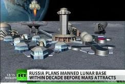 Nga xúc tiến lập căn cứ trên mặt trăng