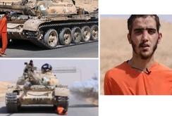 IS tung video hành quyết tù nhân bằng xe tăng