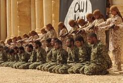 IS công bố video cảnh thanh thiếu niên xử tử binh sĩ Syria