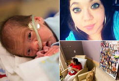 Em bé chào đời từ người mẹ chết não gần 2 tháng