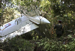 Máy bay trực thăng rơi ở Lào, 23 người thiệt mạng