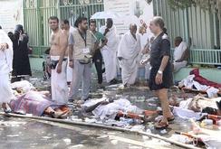 Giẫm đạp kinh hoàng ở thánh địa Mecca, hơn 200 người chết