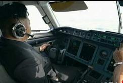 Kim Jong-un làm phi công lái máy bay