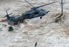 Mưa lũ hoành hành Nhật Bản, nhiều thành phố chìm trong biển nước