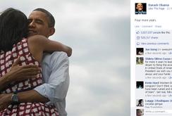 """Tổng thống Obama là lãnh đạo được """"like"""" nhiều nhất trên Facebook"""