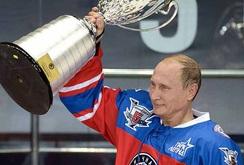 Putin đón sinh nhật lần thứ 63 bằng trận đấu khúc côn cầu