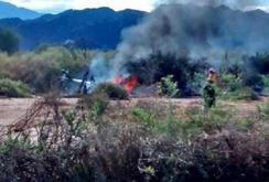 Hai trực thăng va chạm trên không, 10 người thiệt mạng