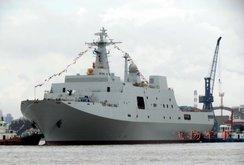Trung Quốc đưa tàu chiến tới đá Vành Khăn