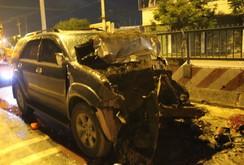 Đang thay lốp, tài xế bị xe tông chết