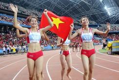 Clip HCV danh giá ở nội dung siêu khó 4x400 m nữ, phá kỷ lục SEA Games