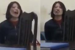 Video Trang Trần chửi bậy tại công an phường