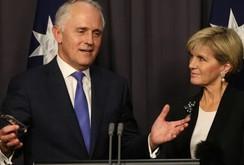 Nước Úc sẽ có thủ tướng mới thay ông Tony Abbott