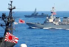 Nhật, Úc, Mỹ tập trận chung quy mô trên biển