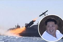 Ông Kim Jong-un xem quân đội bắn tên lửa