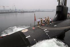 Tàu ngầm hạt nhân Mỹ ở dưới lòng Bắc Cực 6 tháng
