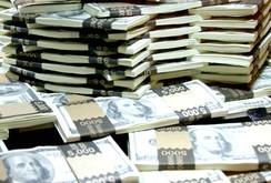 Clip tìm thấy két tiền trong đống đổ nát động đất ở Nepal