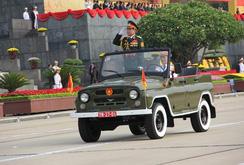 Clip: Diễu binh, duyệt binh kỷ niệm 70 năm Quốc khánh 2-9 (phần 1)