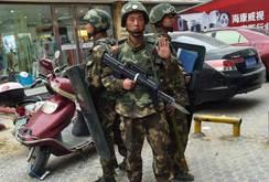 """Lại """"tấn công khủng bố"""" từ Tân Cương, 3 người chết"""